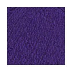 Пряжа Троицкая Подмосковная (50% шерсть, 50% акрил) 10х100г/250м цв.0031 т.фиолетовый