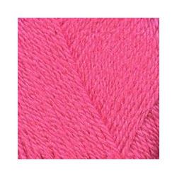 Пряжа Троицкая Подмосковная (50% шерсть, 50% акрил) 10х100г/250м цв.0160 розовый