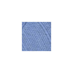 Пряжа Троицкая Подмосковная (50% шерсть, 50% акрил) 10х100г/250м цв.2820 воздушно-голубой