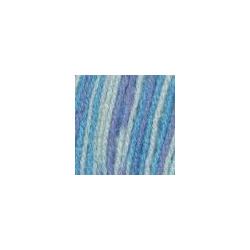 Пряжа Троицкая Подмосковная (50% шерсть, 50% акрил) 10х100г/250м цв.принт 7170