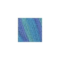 Пряжа Троицкая Подмосковная (50% шерсть, 50% акрил) 10х100г/250м цв.принт 7182