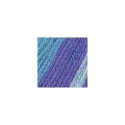 Пряжа Троицкая Подмосковная (50% шерсть, 50% акрил) 10х100г/250м цв.принт 7272