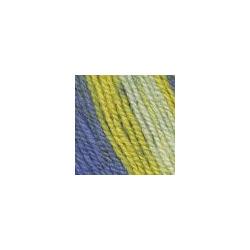 Пряжа Троицкая Подмосковная (50% шерсть, 50% акрил) 10х100г/250м цв.принт 7280