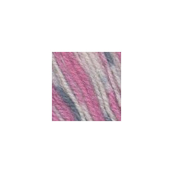 Пряжа Троицкая Подмосковная (50% шерсть, 50% акрил) 10х100г/250м цв.принт 7285