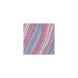 Пряжа Троицкая Подмосковная (50% шерсть, 50% акрил) 10х100г/250м цв.принт 7289