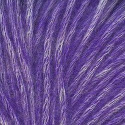 Пряжа Троицкая Фиджи (20% мериносовая шерсть, 60% хлопок, 20% акрил) 5х50г/95м цв.8353 меланж (фиолетовый)