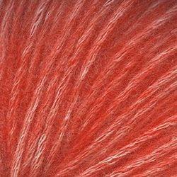 Пряжа Троицкая Фиджи (20% мериносовая шерсть, 60% хлопок, 20% акрил) 5х50г/95м цв.8355 меланж (св.оранжевый)