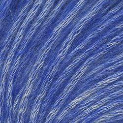 Пряжа Троицкая Фиджи (20% мериносовая шерсть, 60% хлопок, 20% акрил) 5х50г/95м цв.8363 меланж (св. джинса)