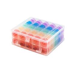 Аксессуары Hemline Коробка с наполнением шпулями для швейных машин марки Janome/New Home, 50 шт