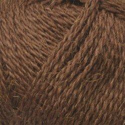 Пряжа Пехорка Деревенская (100% полугрубая шерсть) 10х100г/250м цв.251 коричневый