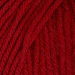 Пряжа Пехорка Детский каприз тёплый (50% мериносовая шерсть, 50% фибра) 10х50г/125м цв.006 красный