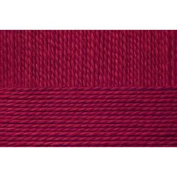 Пряжа Пехорка Детский каприз тёплый (50% мериносовая шерсть, 50% фибра) 10х50г/125м цв.007 бордо