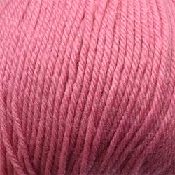 Пряжа Пехорка Детский каприз тёплый (50% мериносовая шерсть, 50% фибра) 10х50г/125м цв.011 ярк.розовый