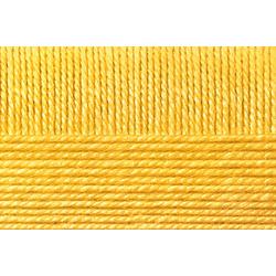 Пряжа Пехорка Детский каприз тёплый (50% мериносовая шерсть, 50% фибра) 10х50г/125м цв.012 желтый