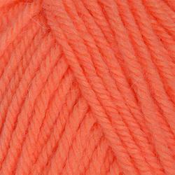 Пряжа Пехорка Детский каприз тёплый (50% мериносовая шерсть, 50% фибра) 10х50г/125м цв.1125 розовый коралл