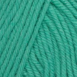 Пряжа Пехорка Детский каприз тёплый (50% мериносовая шерсть, 50% фибра) 10х50г/125м цв.1130 мятный леденец