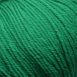 Пряжа Пехорка Детский каприз тёплый (50% мериносовая шерсть, 50% фибра) 10х50г/125м цв.511 зеленка