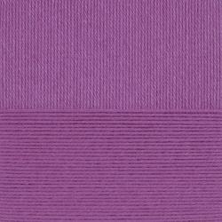 Пряжа Пехорка Детский каприз тёплый (50% мериносовая шерсть, 50% фибра) 10х50г/125м цв.516 персидская сирень
