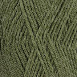 Пряжа Пехорка Джинсовый Ряд (50% шерсть, 50% акрил) 10х100г/250м цв.1099 оливковый меланж