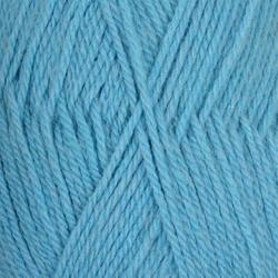 Пряжа Пехорка Джинсовый Ряд (50% шерсть, 50% акрил) 10х100г/250м цв.1124 голубой меланж
