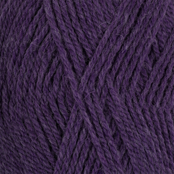 Пряжа Пехорка Джинсовый Ряд (50% шерсть, 50% акрил) 10х100г/250м цв.1162 т.фиолетовый меланж