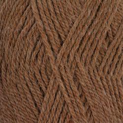 Пряжа Пехорка Джинсовый Ряд (50% шерсть, 50% акрил) 10х100г/250м цв.1163 св.коричневый меланж