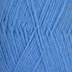 Пряжа Пехорка Джинсовый Ряд (50% шерсть, 50% акрил) 10х100г/250м цв.777 т.голубой меланж