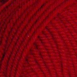 Пряжа Пехорка Зимний вариант (95% шерсть, 5% акрил) 10х100г/100м цв.006 красный