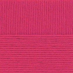 Пряжа Пехорка Зимняя премьера (50% мериносовая шерсть, 50% акрил) 10х100г/150м цв.011 ярк.розовый