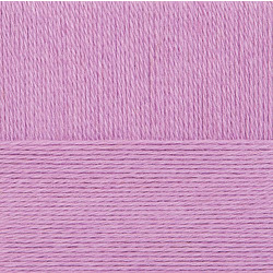 Пряжа Пехорка Конкурентная (50% шерсть, 50% акрил) 10х100г/250м цв.329 лаванда