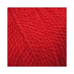 Пряжа Пехорка Мериносовая (50% шерсть, 50% акрил) 10х100г/200м цв.006 красный