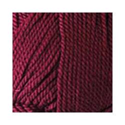 Пряжа Пехорка Мериносовая (50% шерсть, 50% акрил) 10х100г/200м цв.007 бордо