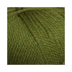 Пряжа Пехорка Мериносовая (50% шерсть, 50% акрил) 10х100г/200м цв.252 зеленый горошек