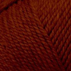 Пряжа Пехорка Мериносовая (50% шерсть, 50% акрил) 10х100г/200м цв.344 красная глина