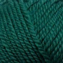 Пряжа Пехорка Мериносовая (50% шерсть, 50% акрил) 10х100г/200м цв.511 зелёнка