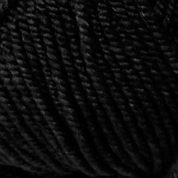 Пряжа Пехорка Народная (30% шерсть, 70% акрил) 5х100г/220м цв.002 черный