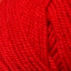 Пряжа Пехорка Народная (30% шерсть, 70% акрил) 5х100г/220м цв.088 красный мак
