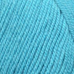Пряжа Пехорка Народная (30% шерсть, 70% акрил) 5х100г/220м цв.223 св.бирюза