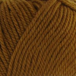 Пряжа Пехорка Народная (30% шерсть, 70% акрил) 5х100г/220м цв.447 горчица