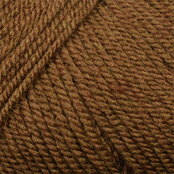 Пряжа Пехорка Народная (30% шерсть, 70% акрил) 5х100г/220м цв.887 орех