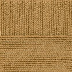Пряжа Пехорка Народная традиция (30% шерсть, 70% акрил) 10х100г/100м цв.1155 золотисто-медовый