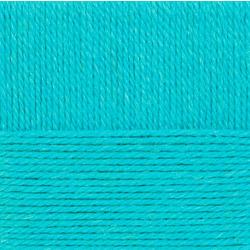 Пряжа Пехорка Народная традиция (30% шерсть, 70% акрил) 10х100г/100м цв.223 св.бирюза