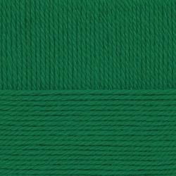 Пряжа Пехорка Народная традиция (30% шерсть, 70% акрил) 10х100г/100м цв.335 изумрудный