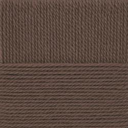 Пряжа Пехорка Народная традиция (30% шерсть, 70% акрил) 10х100г/100м цв.377 кофейный