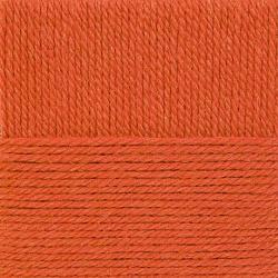 Пряжа Пехорка Народная традиция (30% шерсть, 70% акрил) 10х100г/100м цв.396 настурция