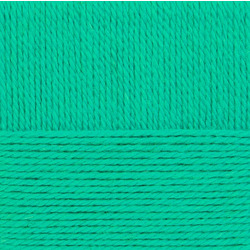 Пряжа Пехорка Народная традиция (30% шерсть, 70% акрил) 10х100г/100м цв.411 мятный
