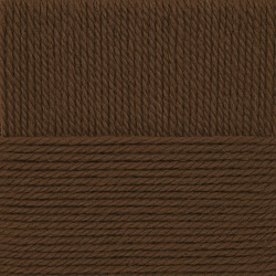 Пряжа Пехорка Народная традиция (30% шерсть, 70% акрил) 10х100г/100м цв.416 св.коричневый