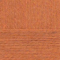 Пряжа Пехорка Носочная (50% шерсть, 50% акрил) 10х100г/200м цв.030 св.терракот