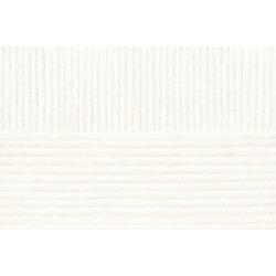 Пряжа Пехорка Перспективная (50% мериносовая шерсть, 50% акрил) 5х100г/270м цв.001 белый