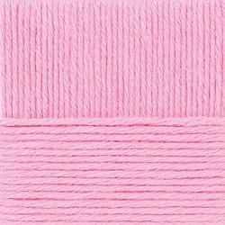 Пряжа Пехорка Перспективная (50% мериносовая шерсть, 50% акрил) 5х100г/270м цв.011 ярк.розовый